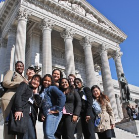 Webster Students at International Education Day