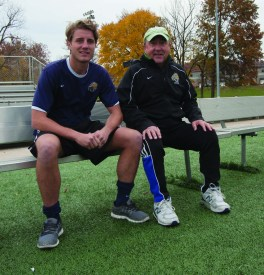 Patrick McCaffrey said his uncle and coach Marty Todt taught him about the mental and emotional aspects of soccer, which made him a better player.