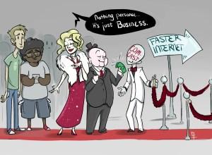Internet fast lane