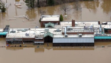 Flooding in Fenton damaged many local businesses and homes. Emily Van de Riet | The journal