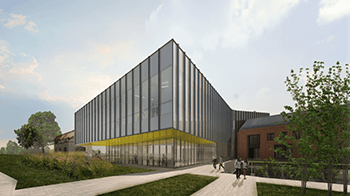 An artist's rendition of the completed Interdisciplinary Science Building / Contributed photo
