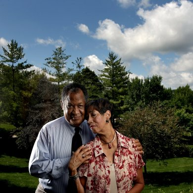 Webster University alumna Patricia McKissack (right) wrote many books alongside her husband, Fredrick L. McKissack (left). Patricia had published over 100 works centered around African-American history and folklore. Patricia died April 7 at the age of 72. JOHN L. WHITE / Contributed Photo