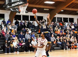 Davian Joseph became the first player since 2016 to win the SLIAC Player of the Week for Webster University.