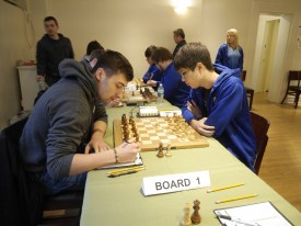 Ray Robson plays Dariusz Swiercz in round three at President's Cup