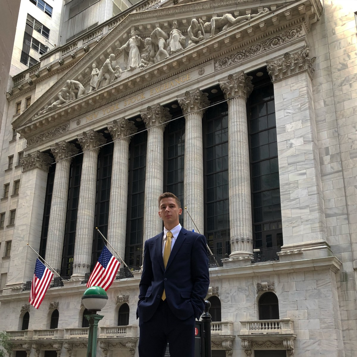 Graduate receives Wall Street job right out college