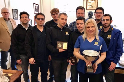 Webster chess team places second in national championship - Webster
