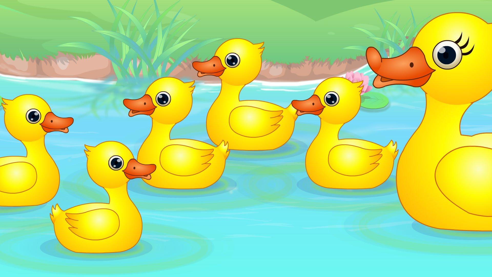 4 Clipart Little Duck 4 Little Duck Transparent Free For