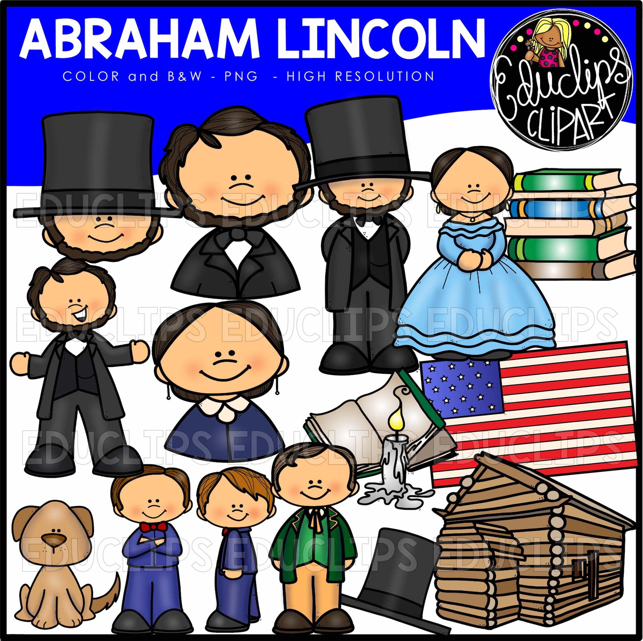 Abraham Lincoln Clipart Template Abraham Lincoln Template