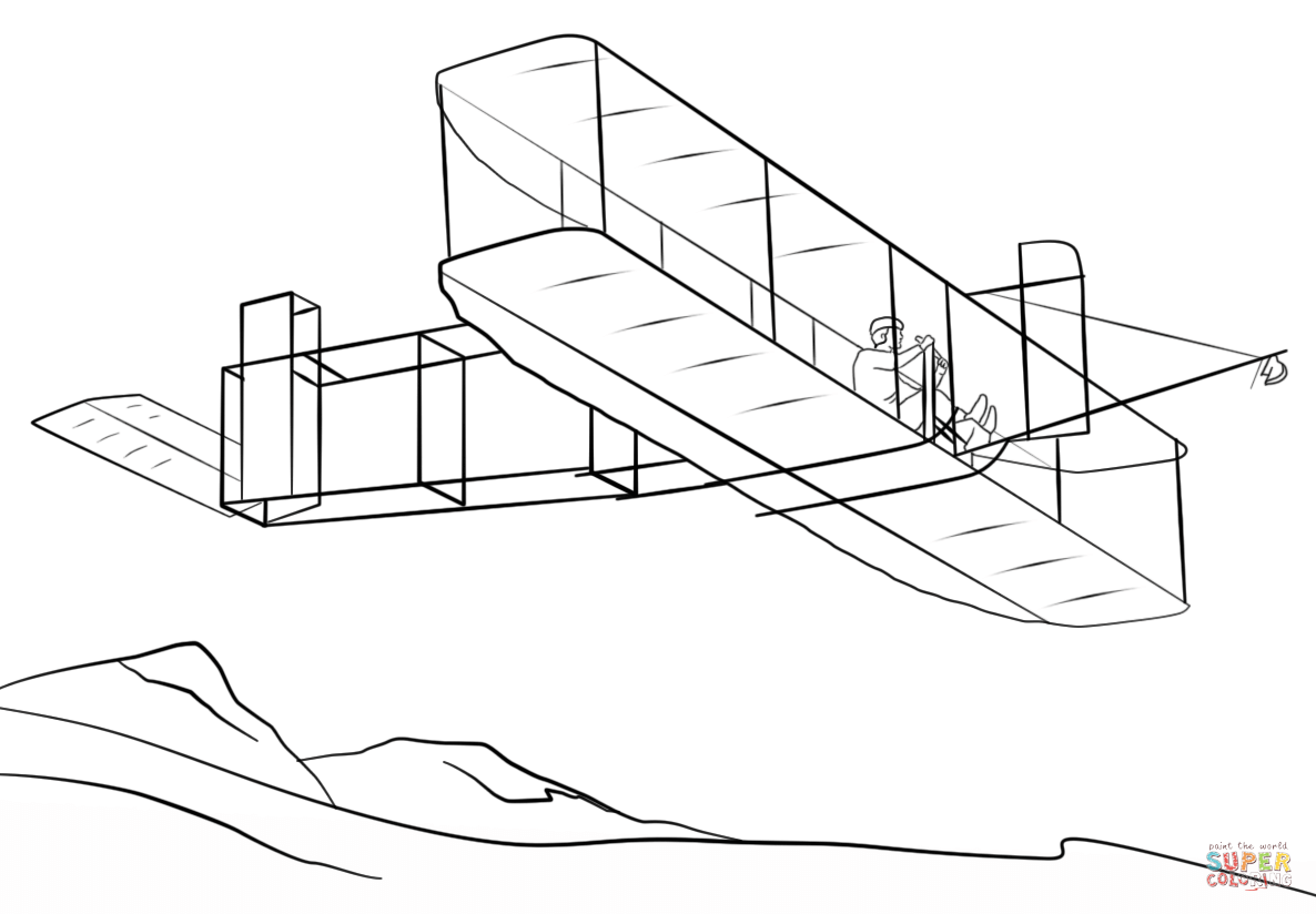 Airplane Clipart Wright Brothers Airplane Wright Brothers