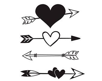 Download Arrow clipart heart, Arrow heart Transparent FREE for ...