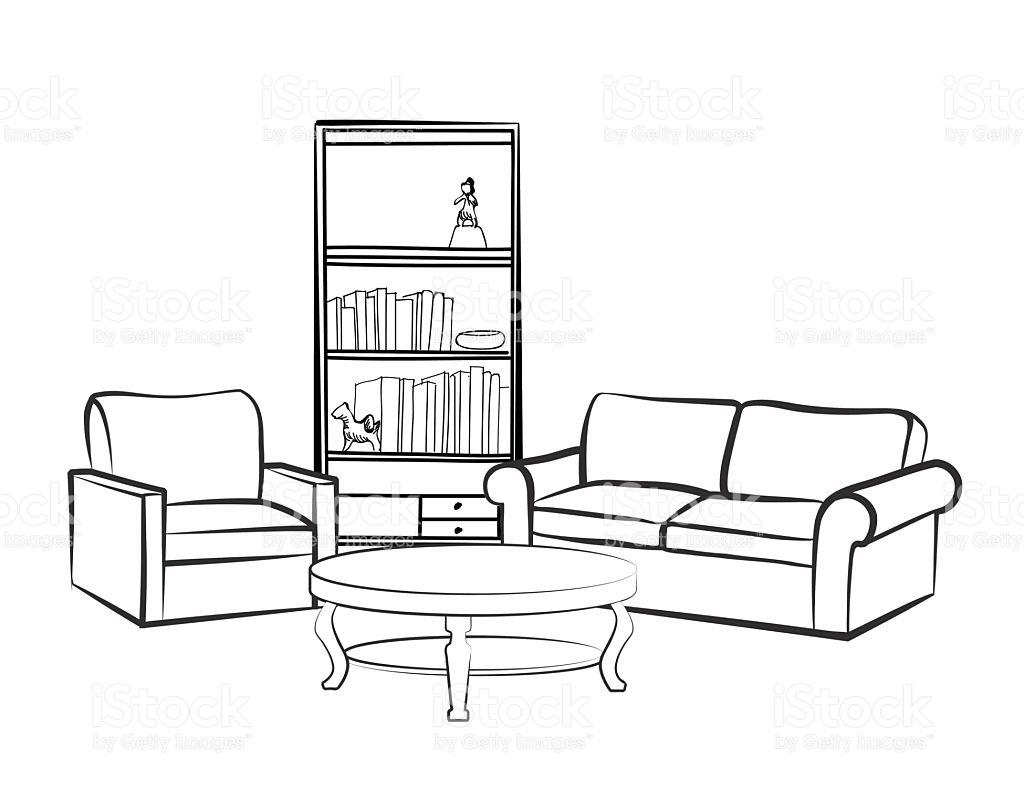 Bedroom Clipart Living Room Bedroom Living Room