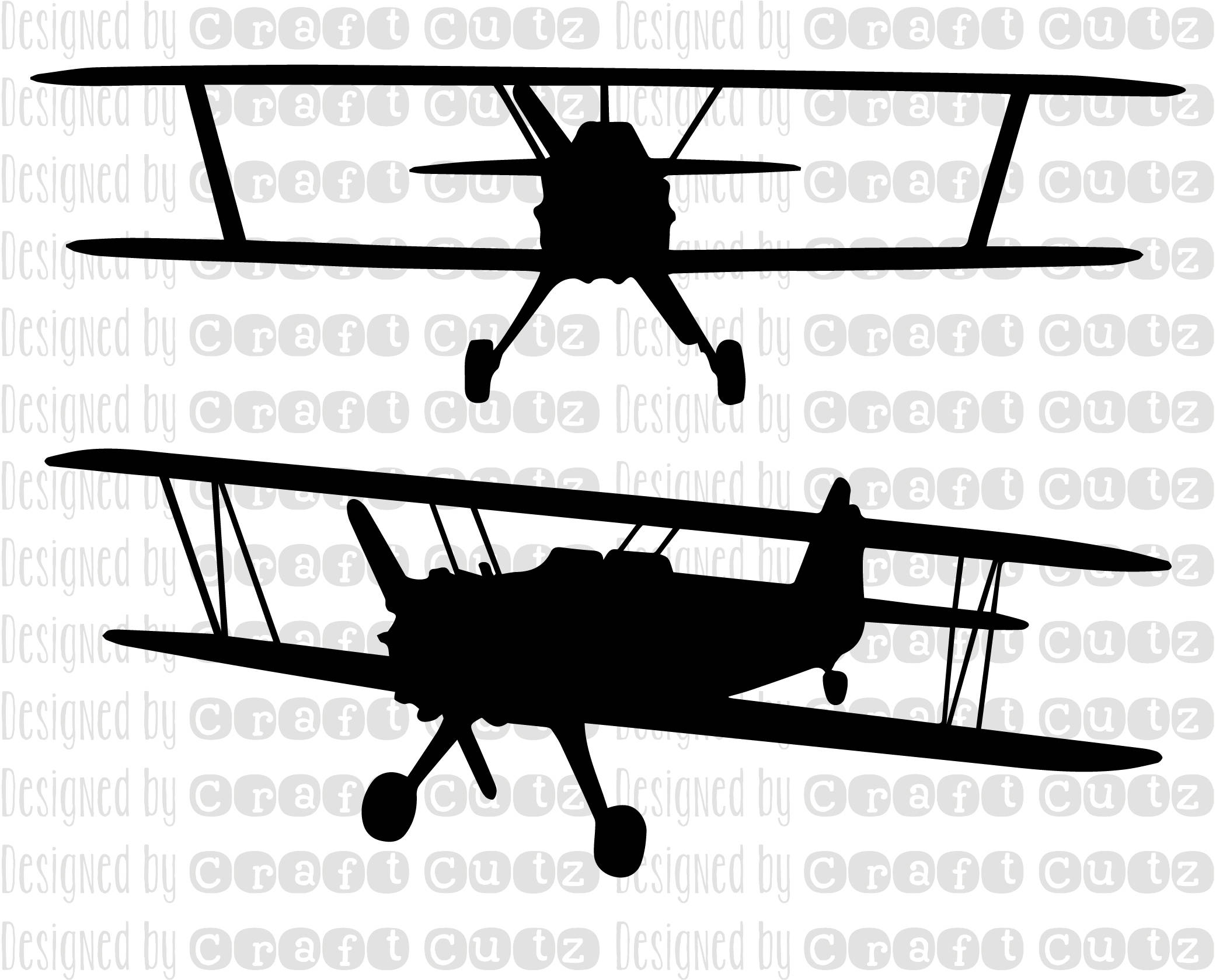 Biplane Clipart Svg Biplane Svg Transparent Free For