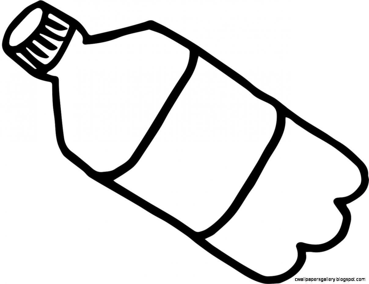 Bottle Clipart Black And White Bottle Black And White