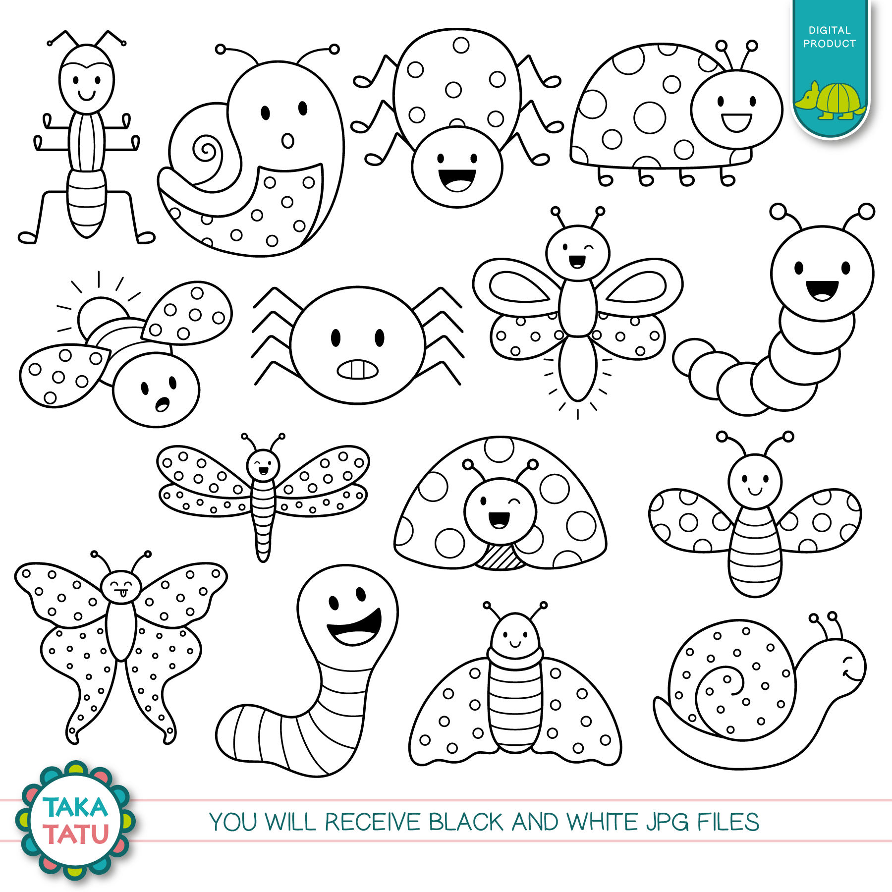 Bugs Clipart Line Art Bugs Line Art Transparent Free For