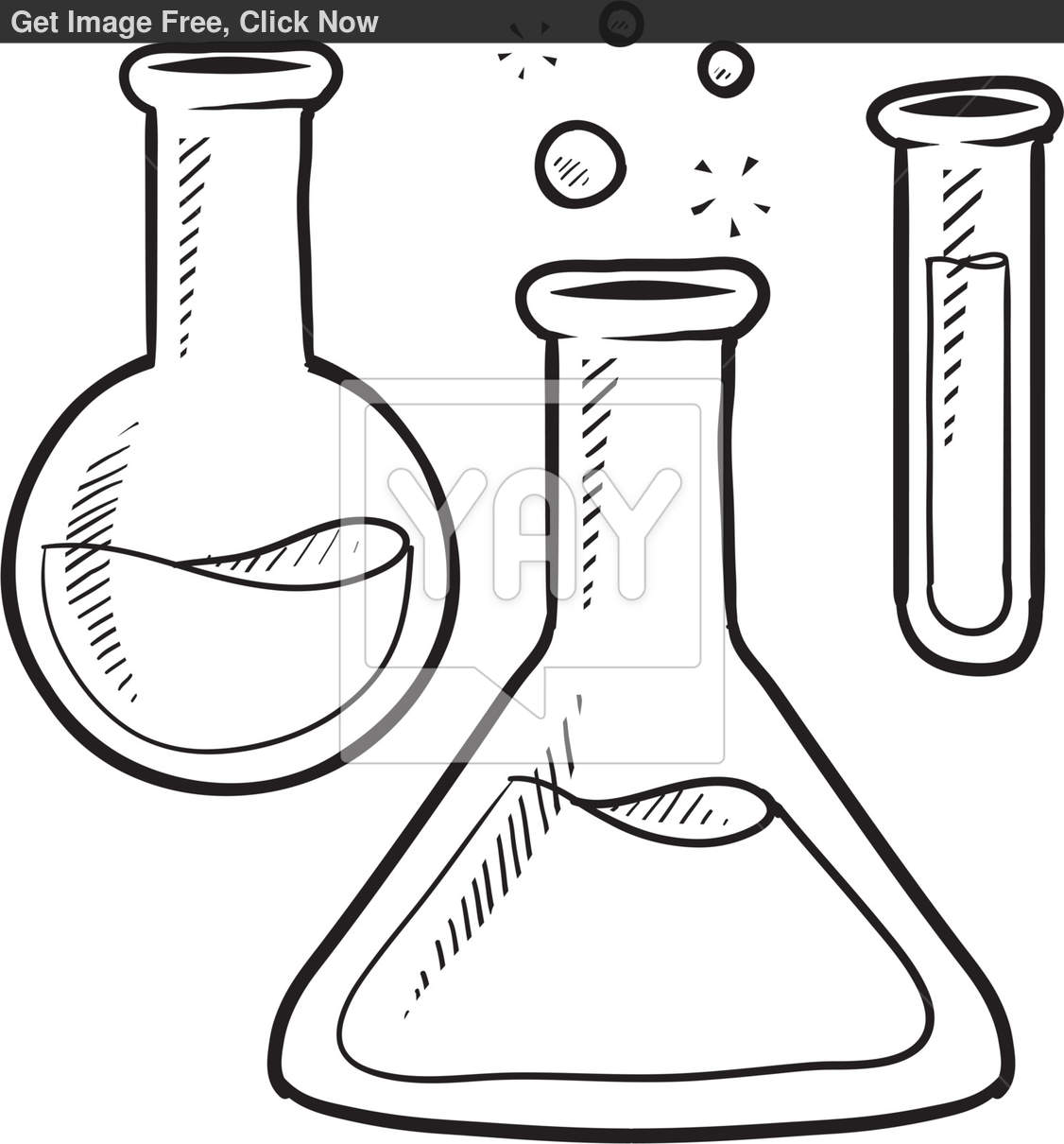 Chemicals Clipart Black And White Chemicals Black And