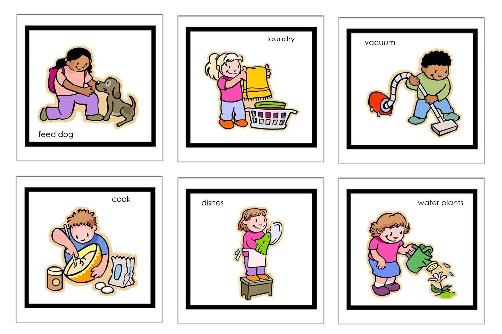 Chore Clipart Household Chore Chore Household Chore