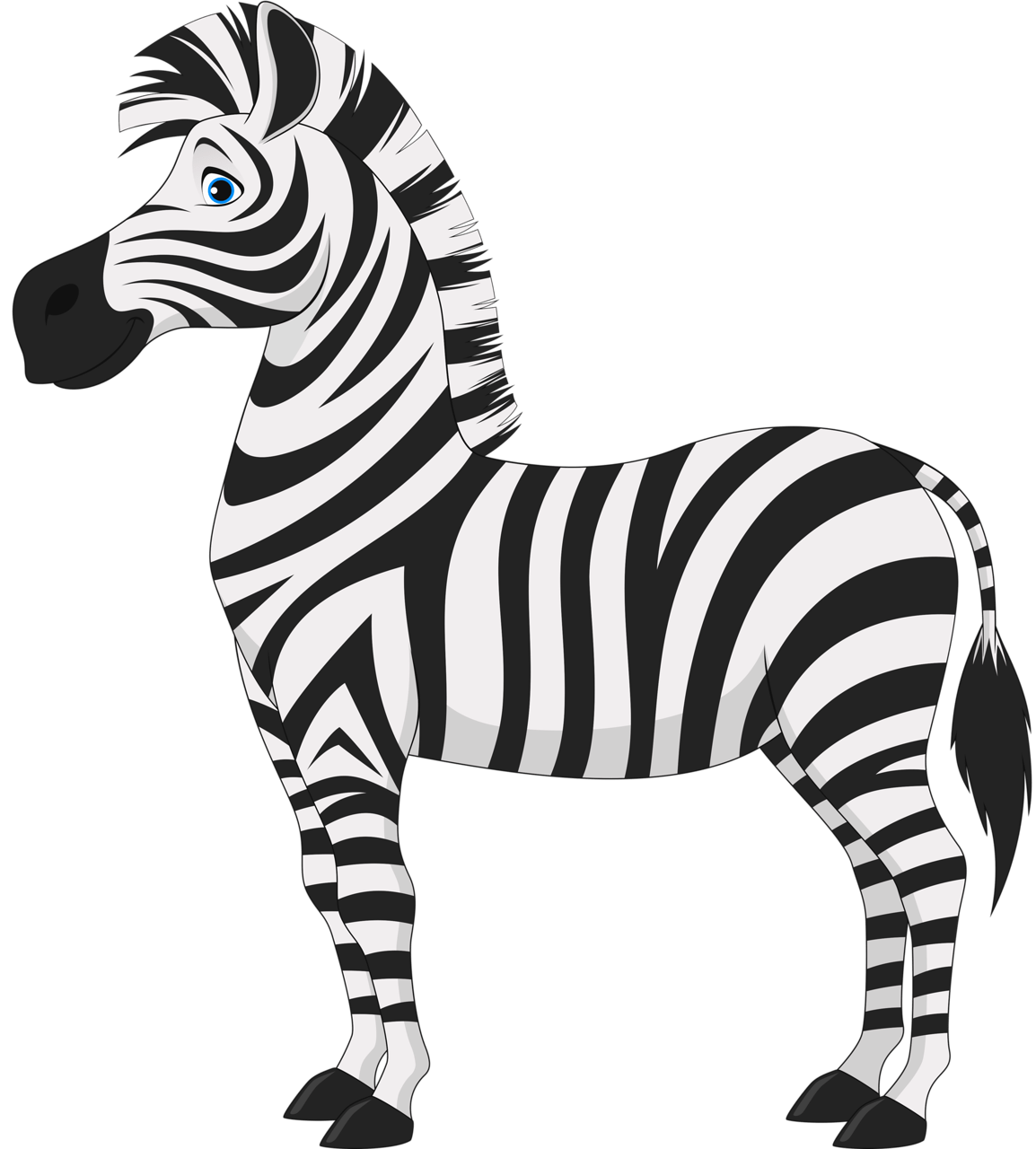 Clipart Zebra Sad Clipart Zebra Sad Transparent Free For