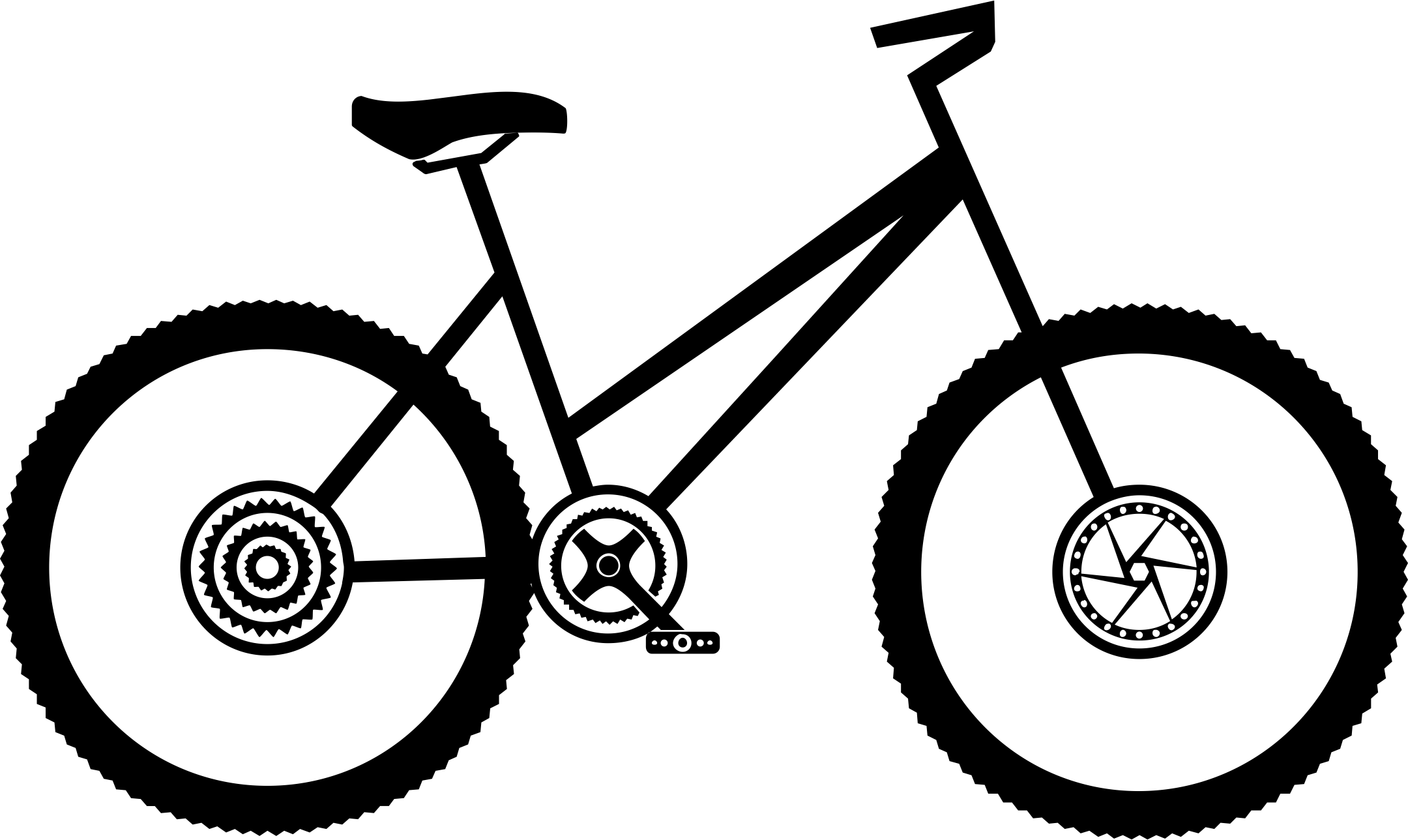 Clipart Bicycle Female Cyclist Clipart Bicycle Female