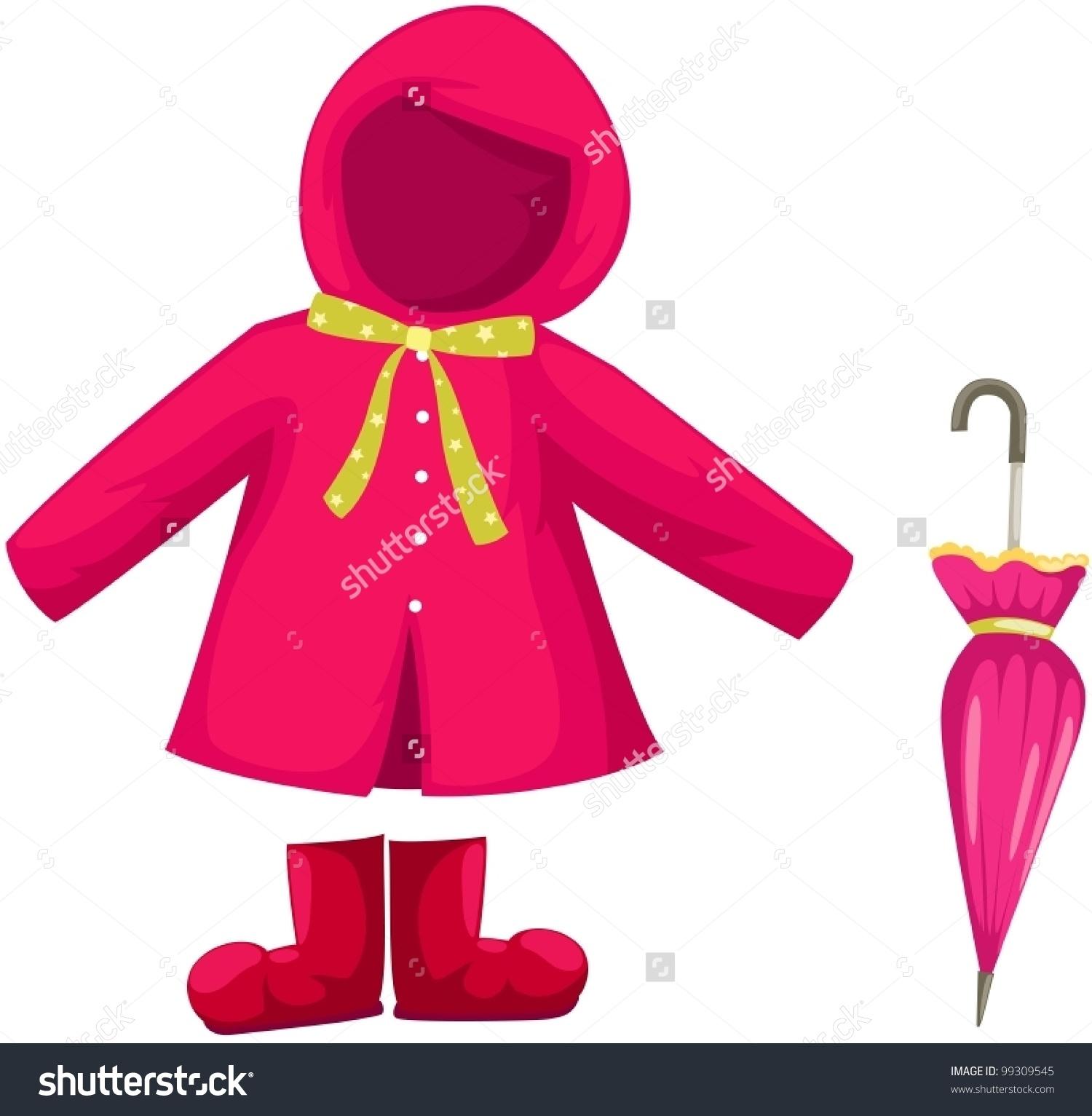 Coat Clipart Rainy Day Clothes Coat Rainy Day Clothes