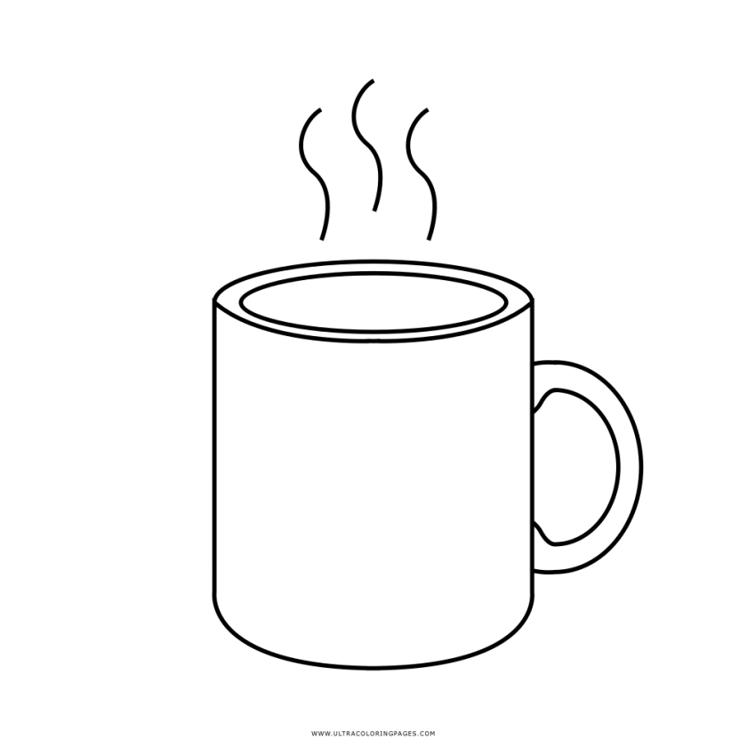 clipart cup colouring page clipart cup colouring page
