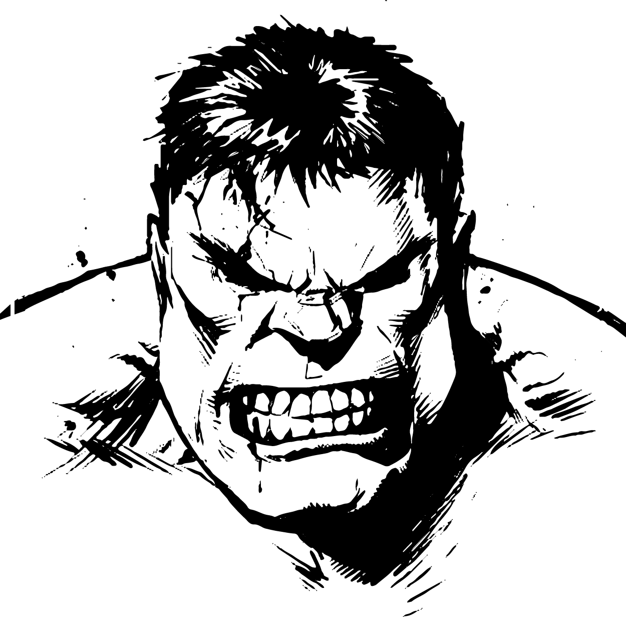 Hulk Clipart Vector Hulk Vector Transparent Free For