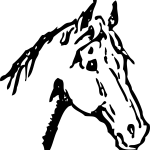 Horseshoe Clipart Horse Head Horseshoe Horse Head Transparent Free For Download On Webstockreview 2020