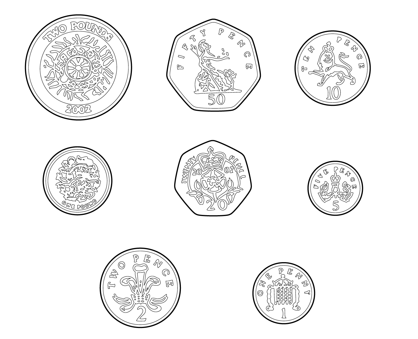 Penny Clipart Coin British Penny Coin British Transparent