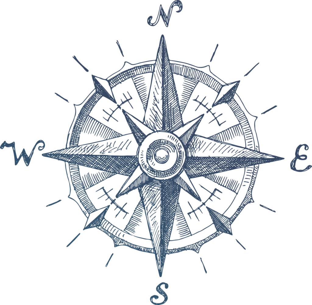 Compass Clipart Movement Geography Compass Movement