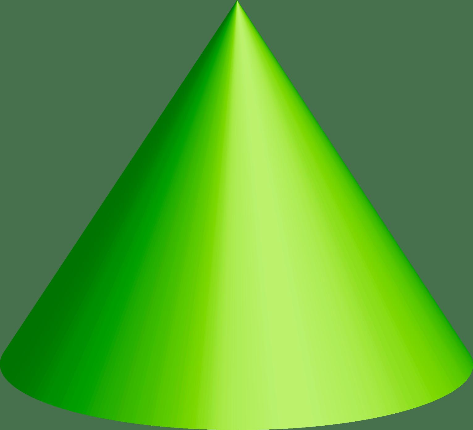 Cone Clipart 3 D Shape Cone 3 D Shape Transparent Free