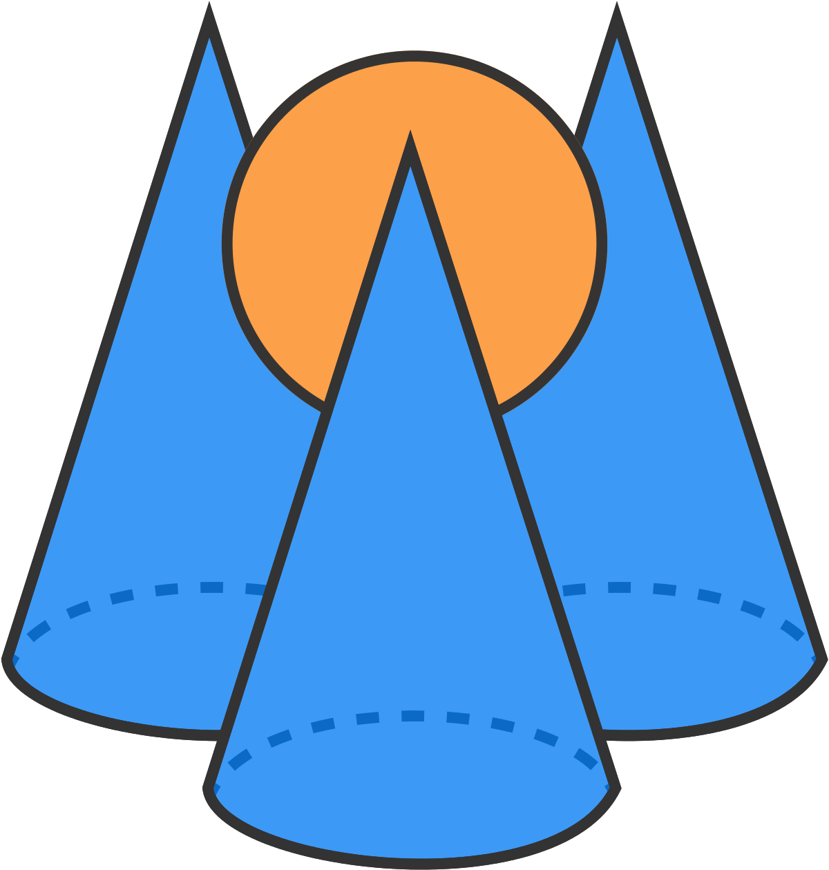 Cone Clipart Geometry Cone Geometry Transparent Free For