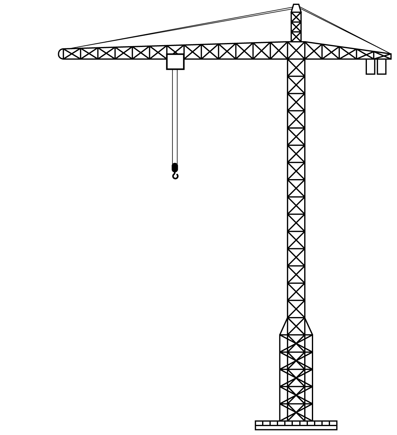 Construction Clipart Crane Construction Crane Transparent