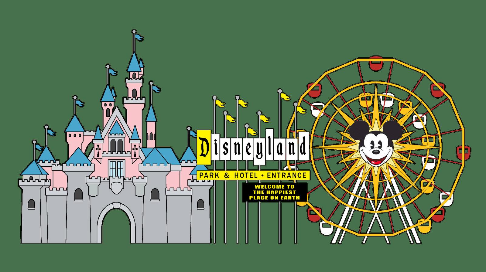Disney World Castle Clip Art