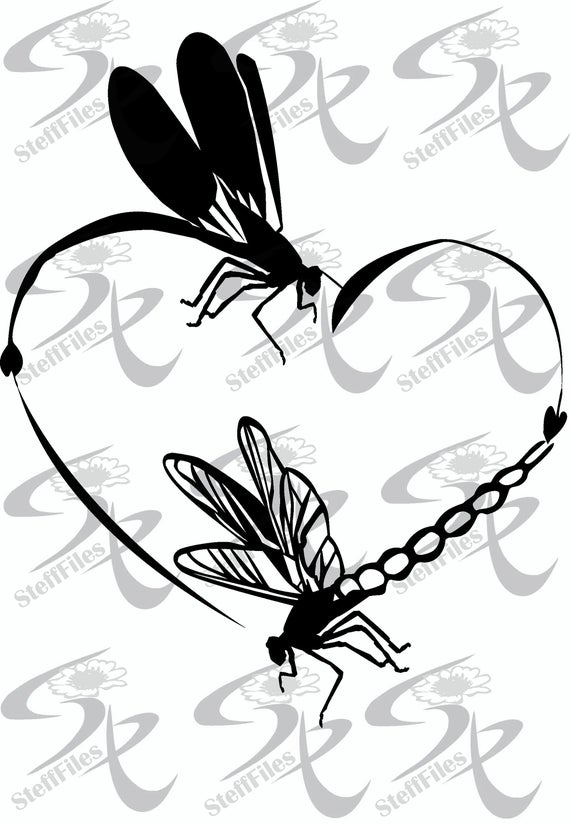 Download Dragonfly clipart dxf, Dragonfly dxf Transparent FREE for ...
