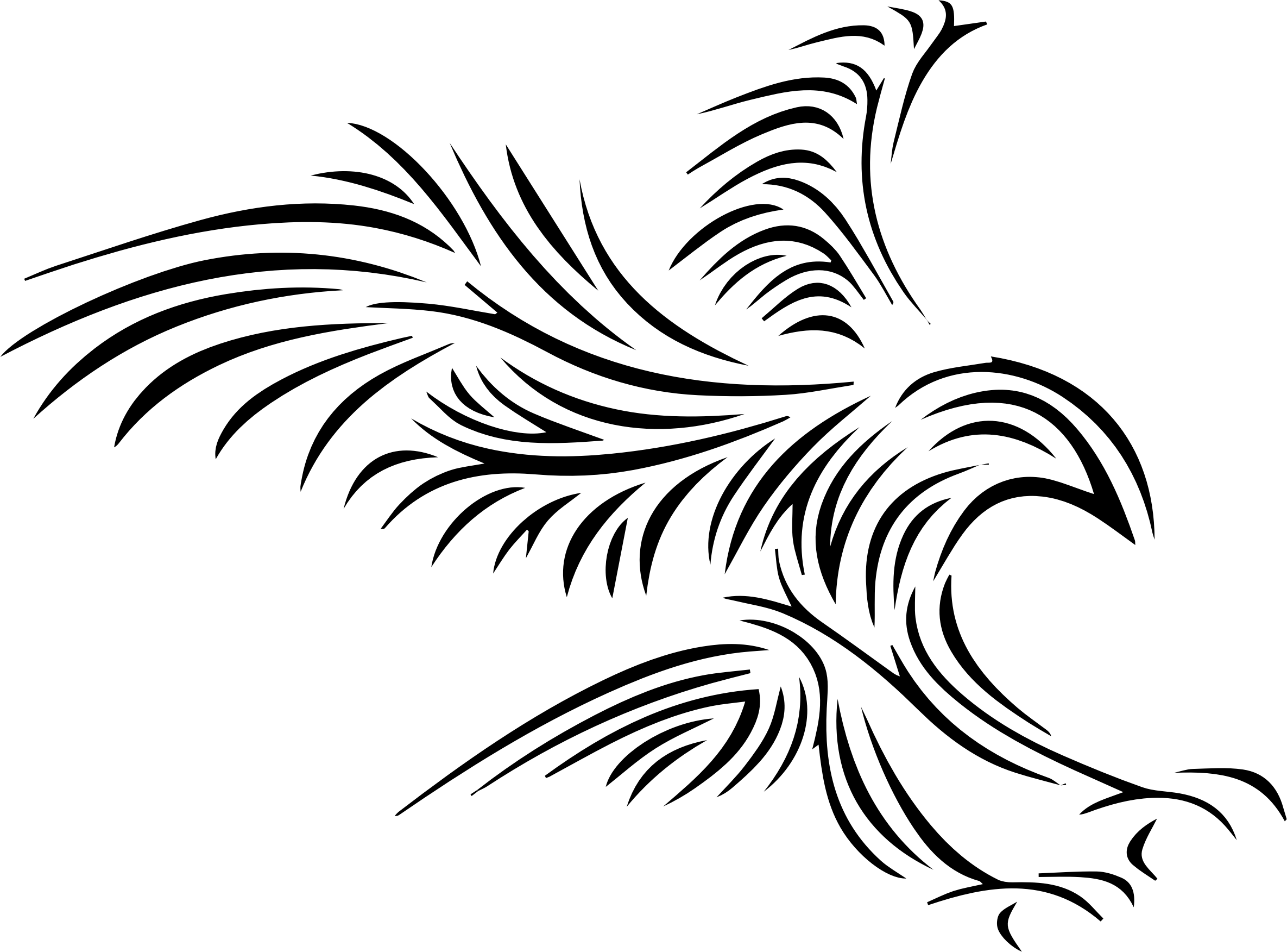 Feather Clipart Tribal Feather Tribal Transparent Free