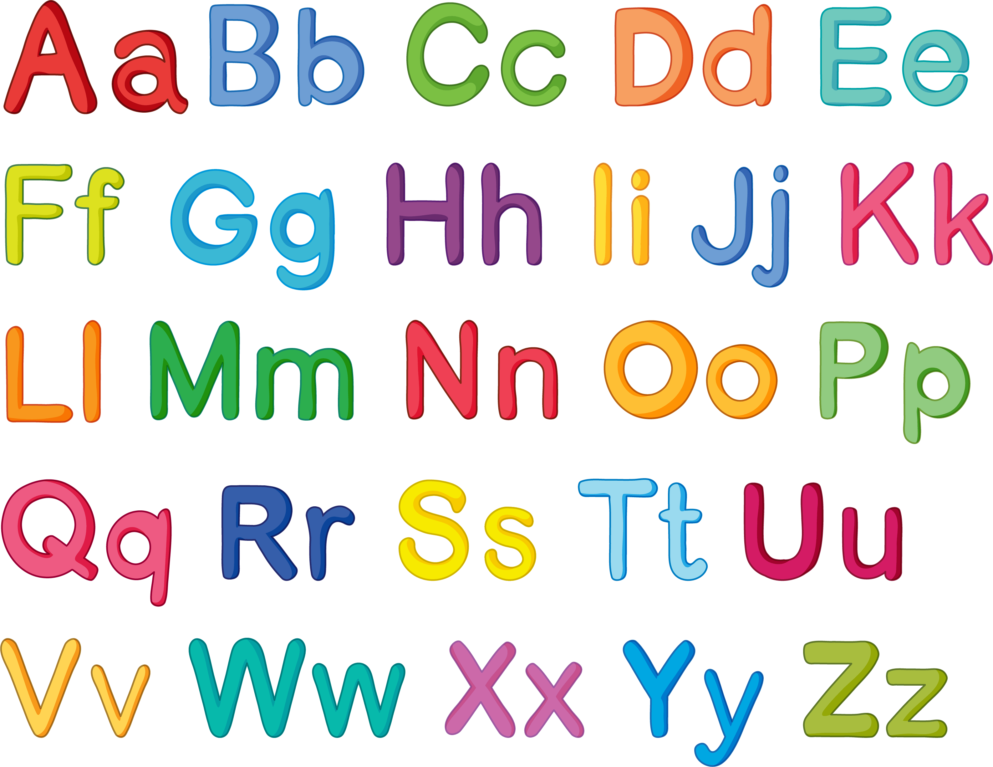 English Clipart English Alphabet English English Alphabet