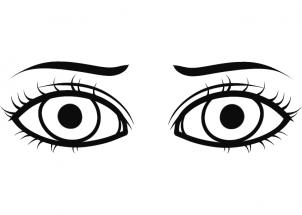 Eye Clipart Coloring Picture 2668883 Eye Clipart Coloring