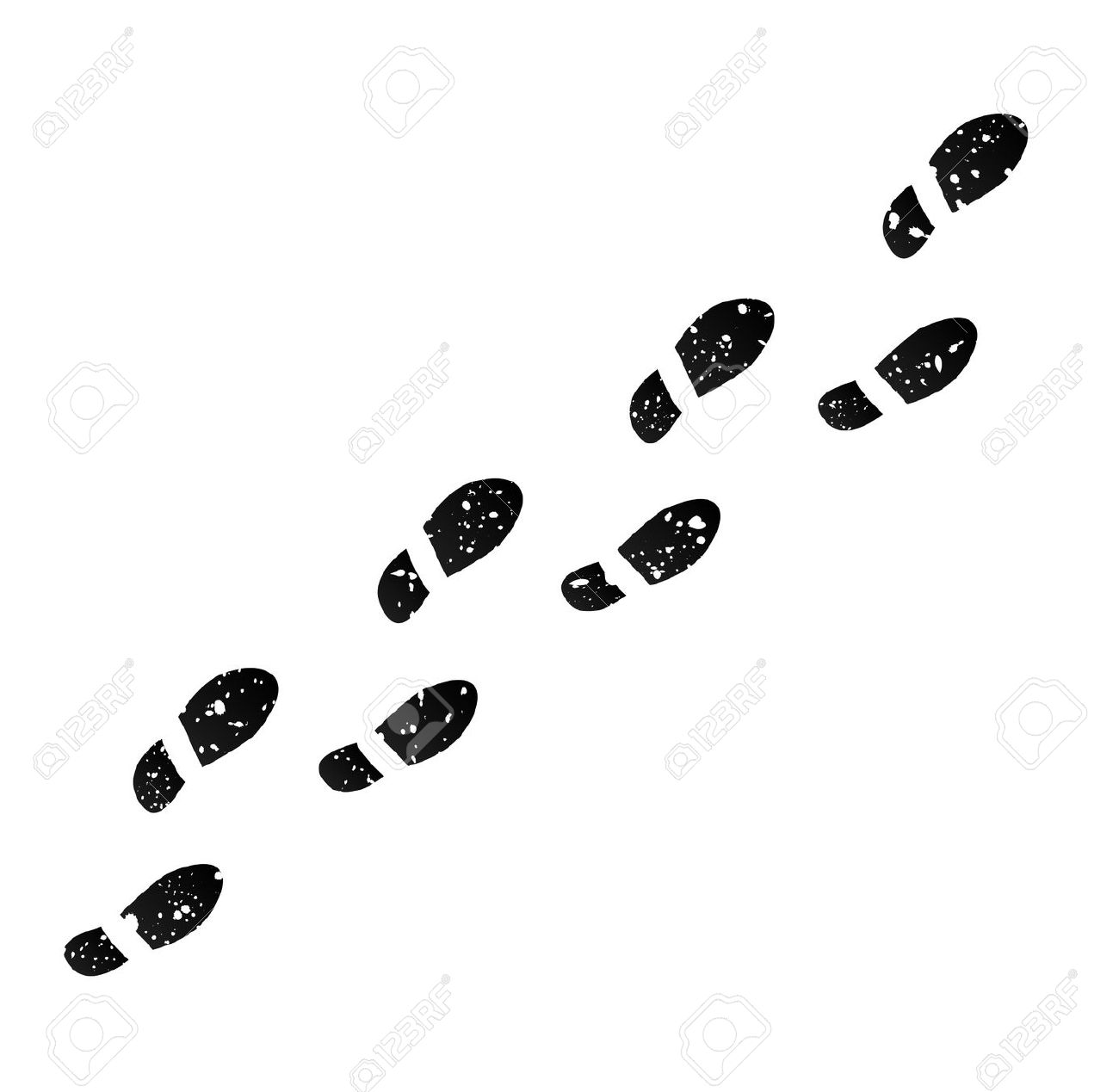 Footsteps Clipart Trail Footsteps Trail Transparent Free