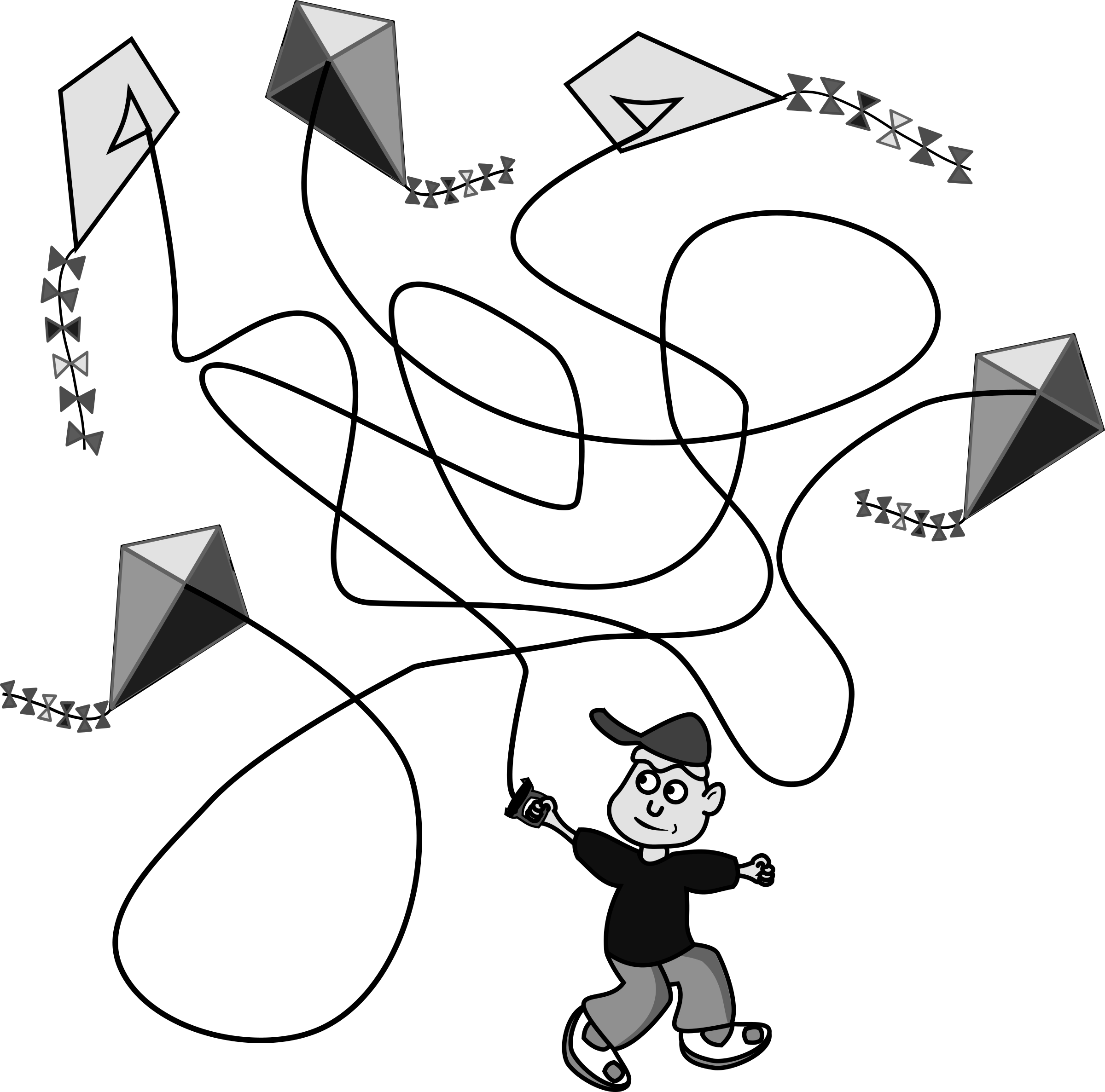 Kite Clipart Draw Kite Draw Transparent Free For Download