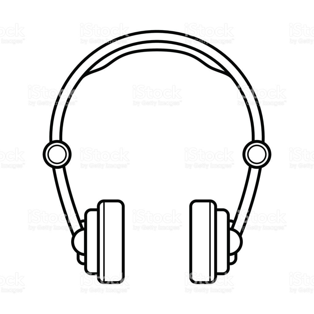 Headphones Clipart Head Drawing Headphones Head Drawing