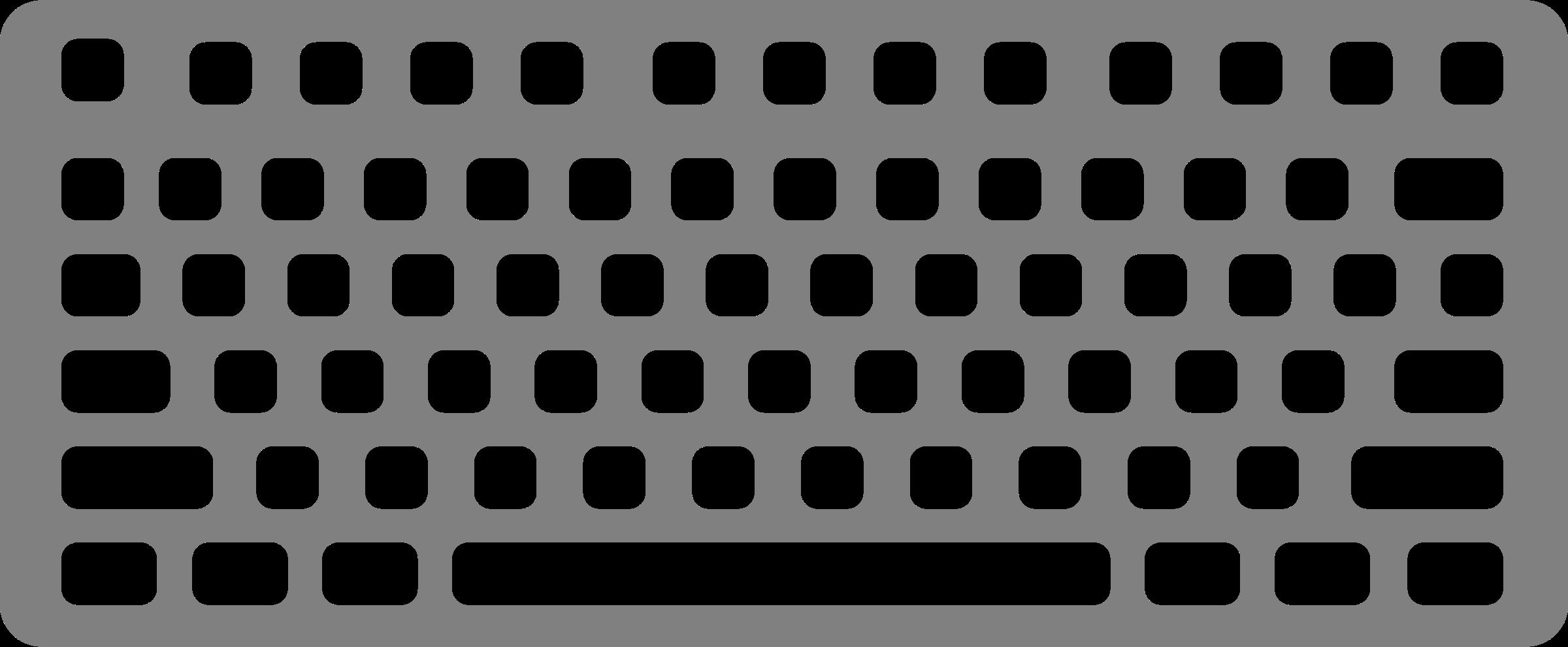 Keyboard Clipart Scrambled Keyboard Scrambled Transparent