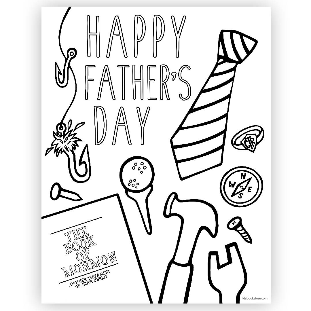 Lds Clipart Fathers Day Lds Fathers Day Transparent Free