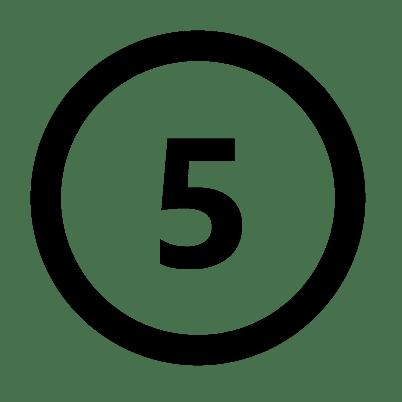 Number 6 Clipart Number5 Number 6 Number5 Transparent