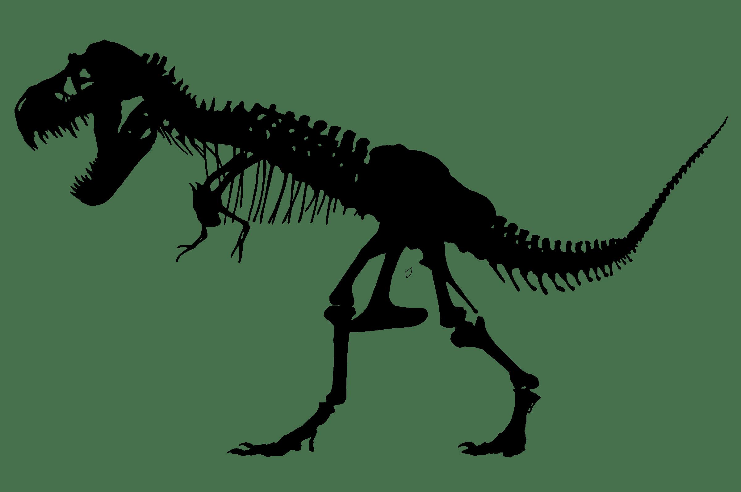 Silhouette Clipart T Rex Silhouette T Rex Transparent