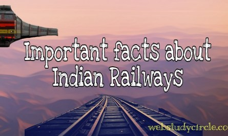 Important facts about Indian Railways