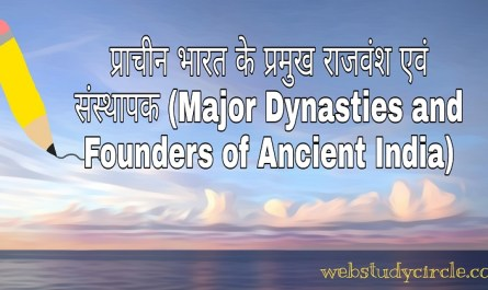 Major Dynasties and Founders of Ancient India