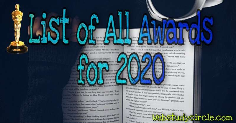 List of all awards for 2020