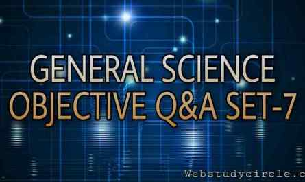 General Science Objective Question Practice Set