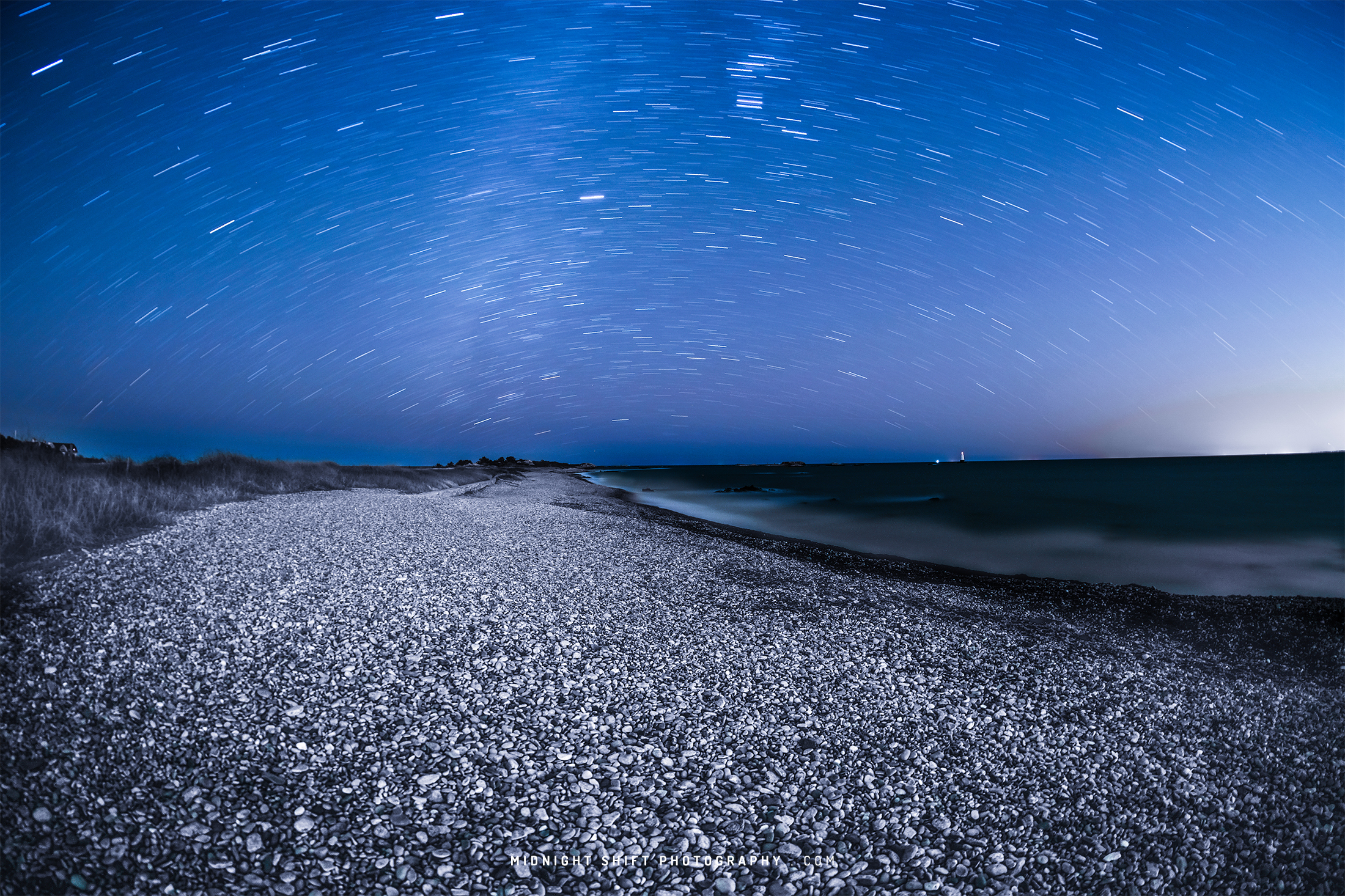 Star Trails over Sakonnet Point