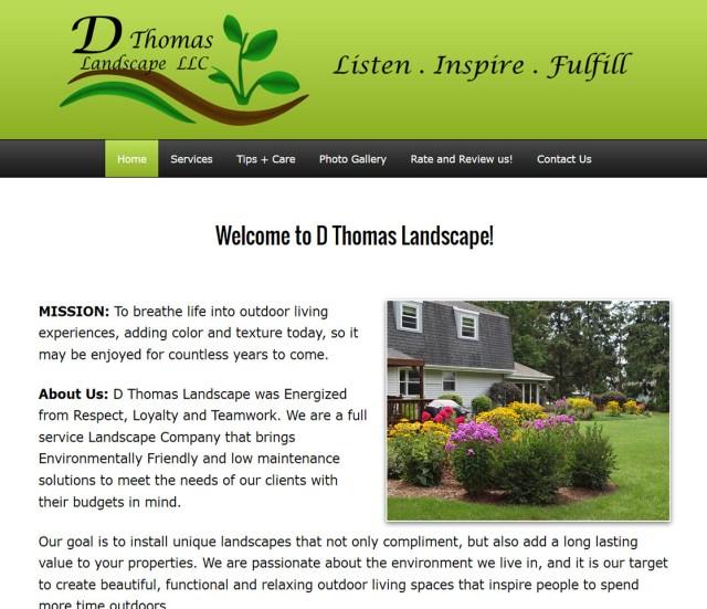 D Thomas Landscape