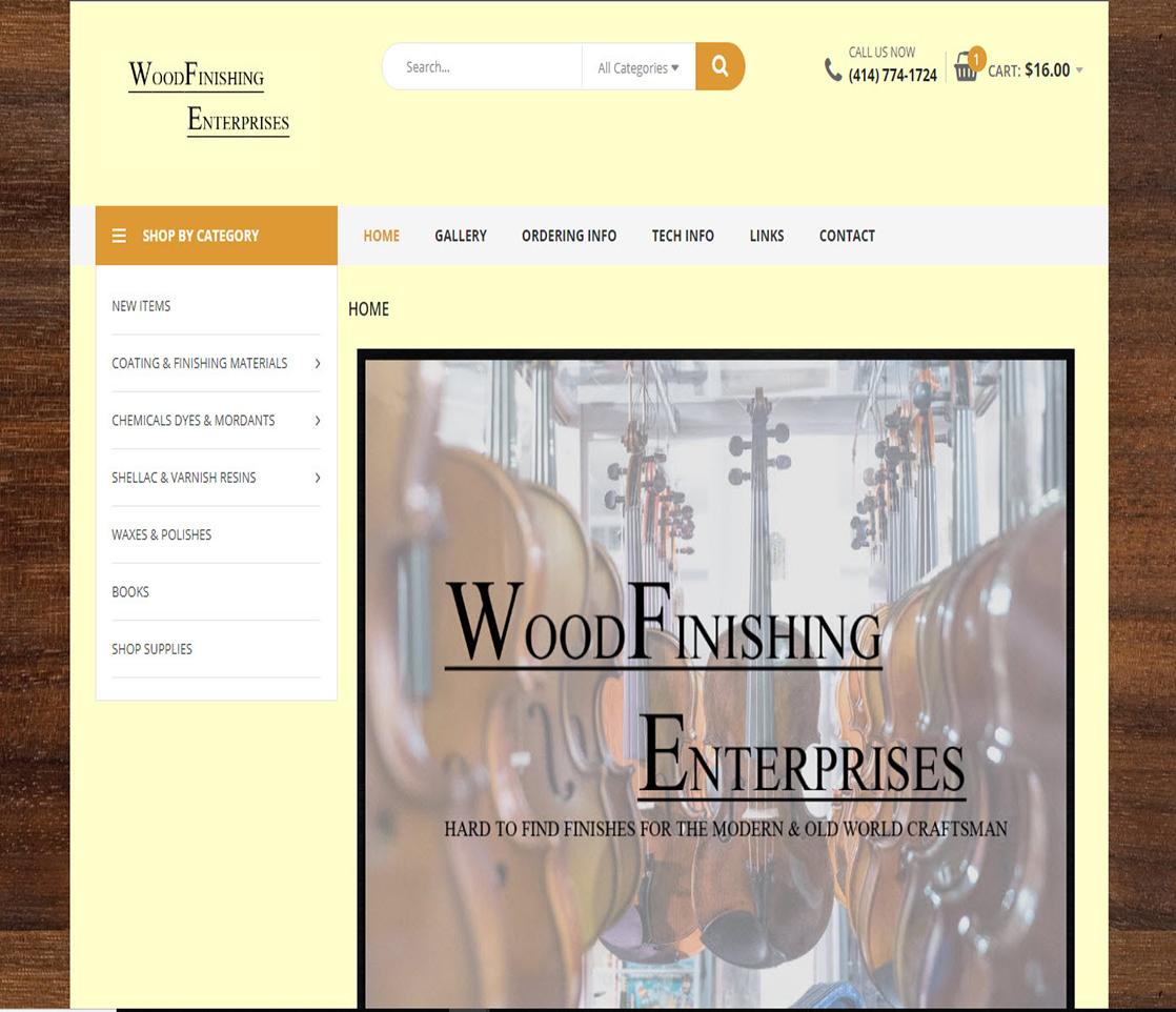 Wood Finishing Enterprises